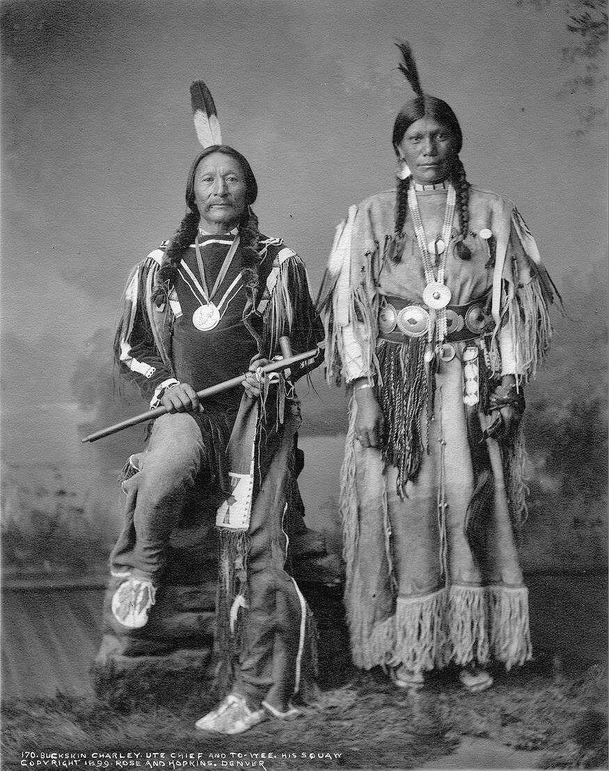 Sapia & To-Wee - Southern Ute...1899