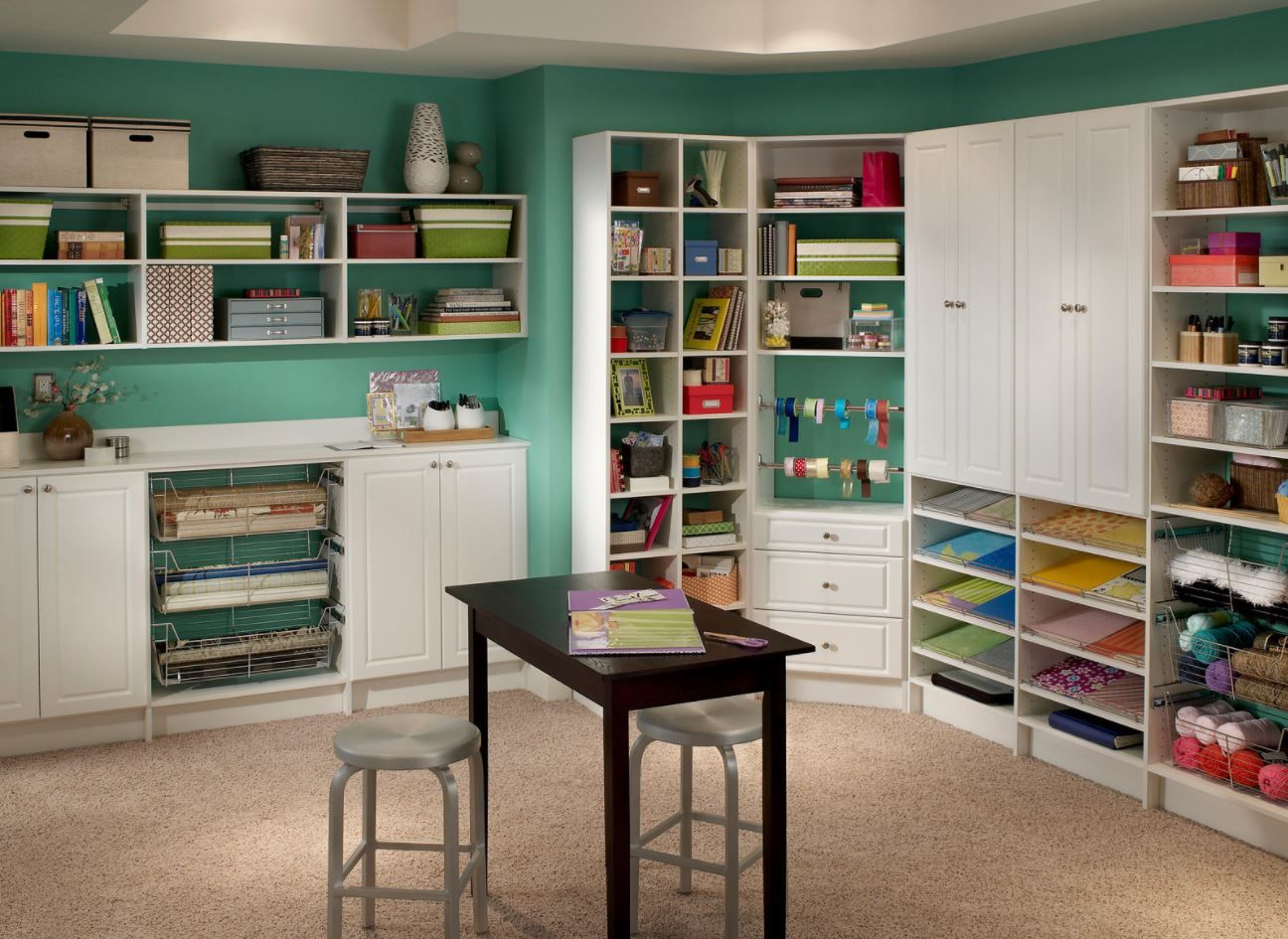 Imagine What You Could Create In A Craft Room This