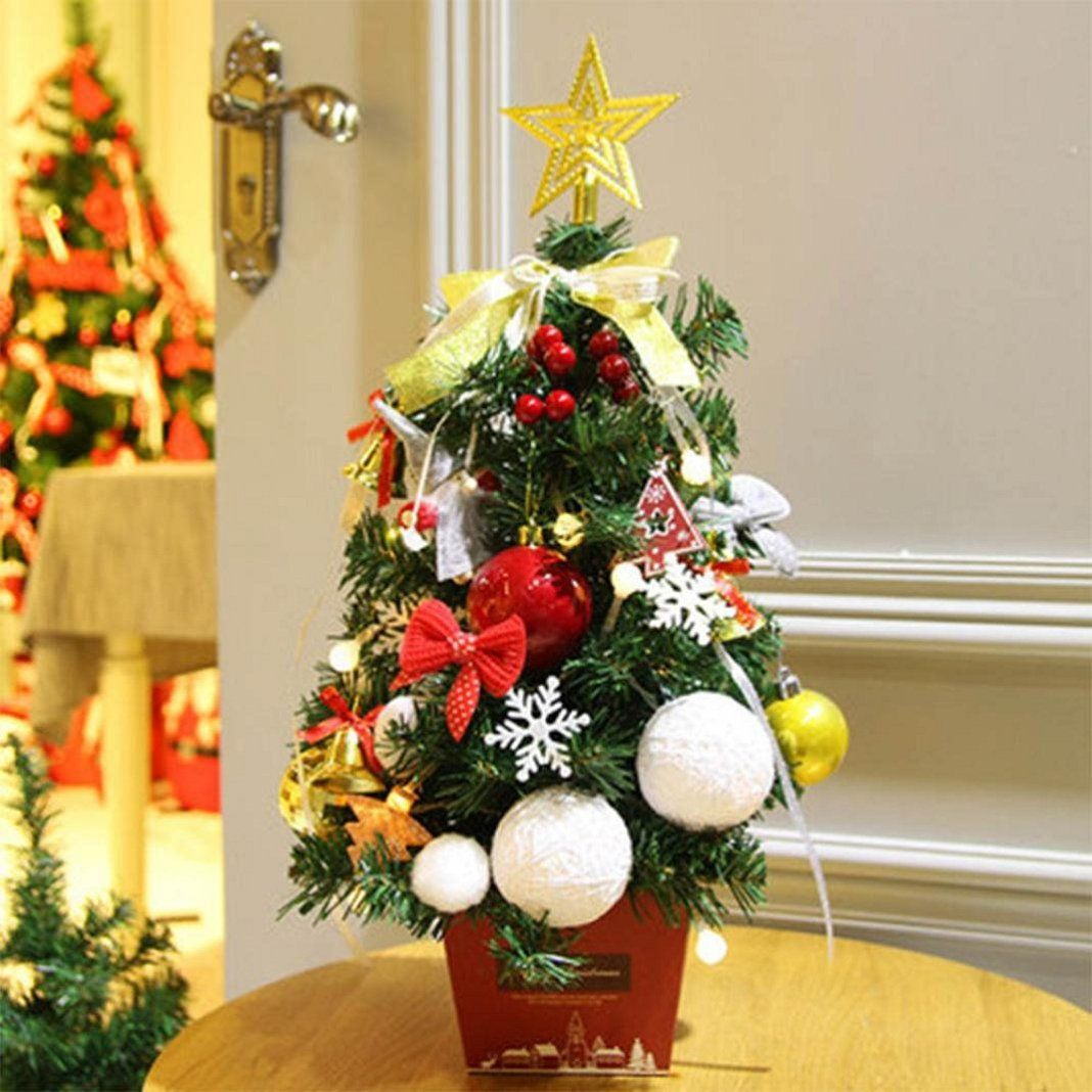 Appoi DIY Christmas Tree Artificial Plants Flocking