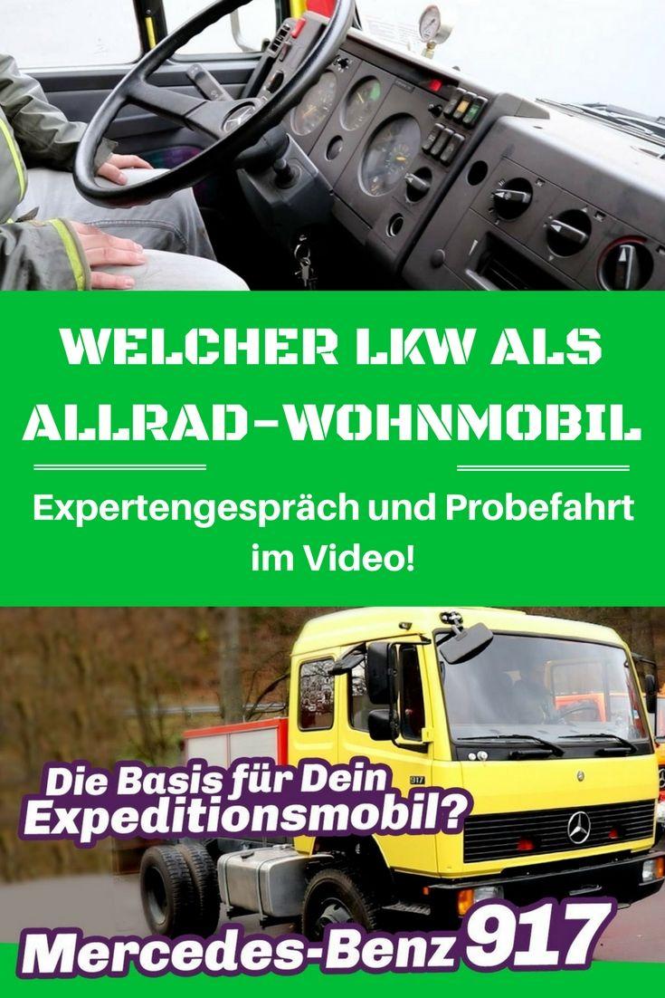 Mercedes 917 - Das wunschlos glücklich Fernreisemobil?   Pinterest ...