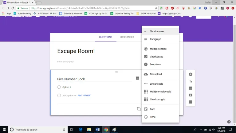 Make Any Worksheet Into an Escape Room in the Classroom ...