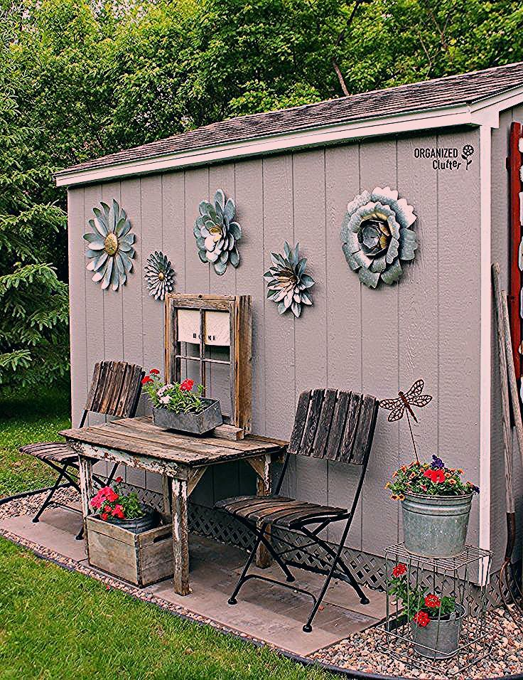 Photo of My New Junk Garden Shed