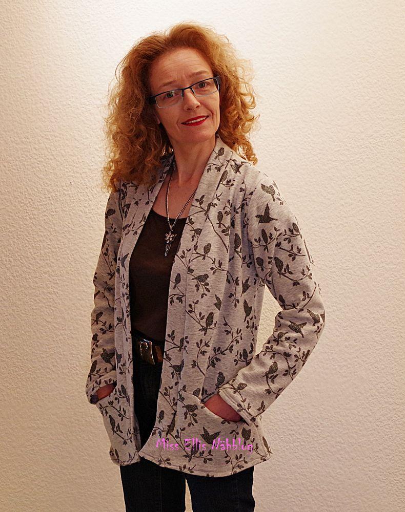 Foto zu Schnittmuster Strickjacke Minna Damen von Fadenkäfer ...