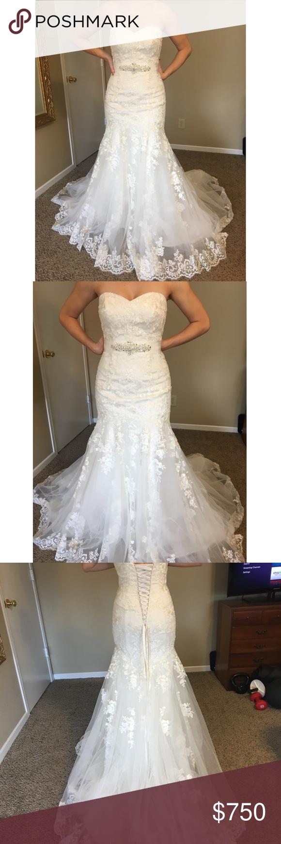 b929cea54ea3 Wedding dress (unaltered new) Alfred Angelo 2506 Alfred Angelo Dresses  Wedding