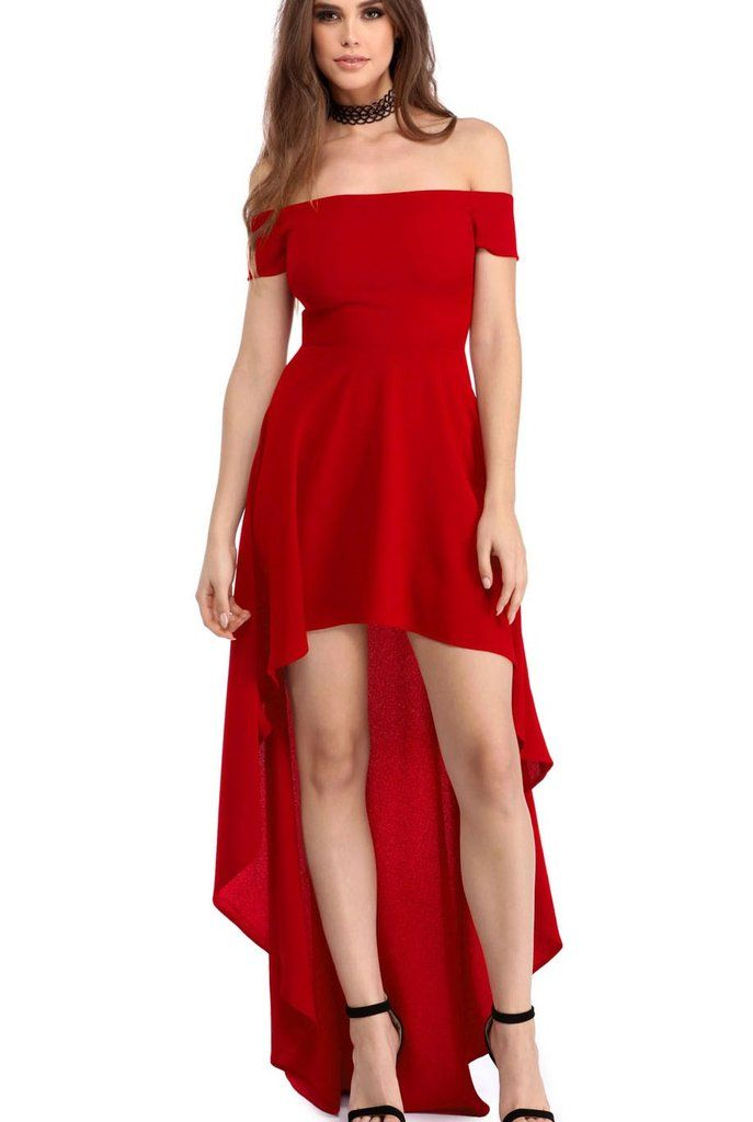Robe de soiree courte pour ado rouge
