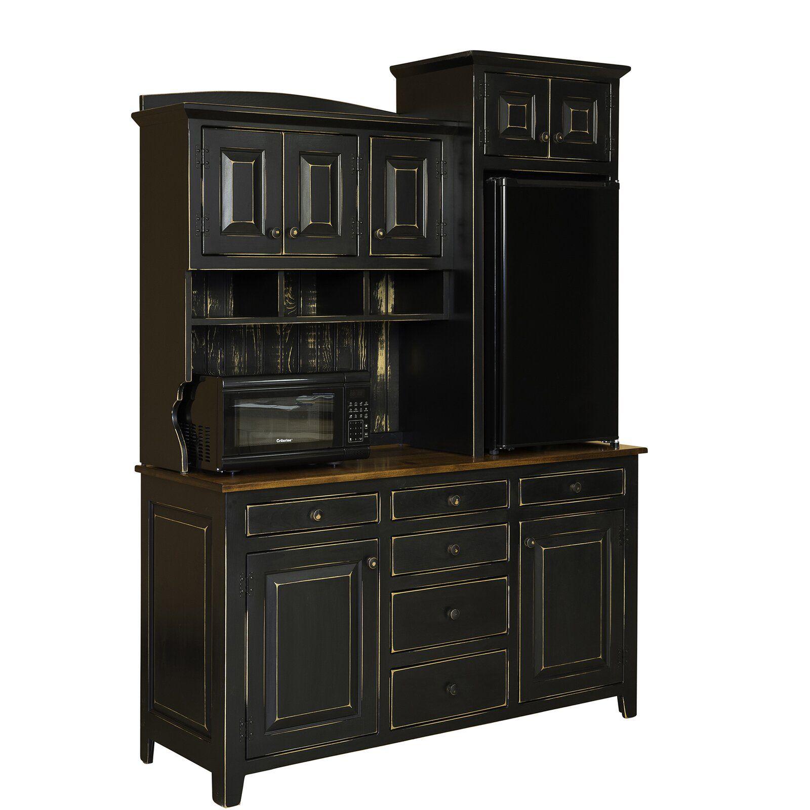 Best August Grove Glidewell 82 Kitchen Pantry Kitchen Pantry 400 x 300