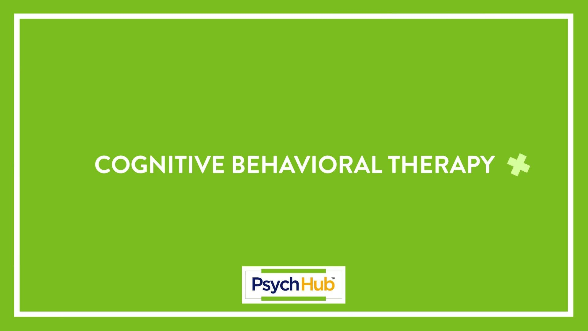 In Depth Cognitive Behavioral Therapy