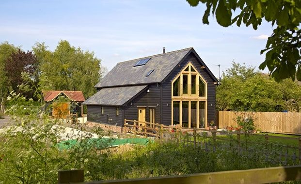 An Oak Frame Flat Pack House From Oakwrights Total Build