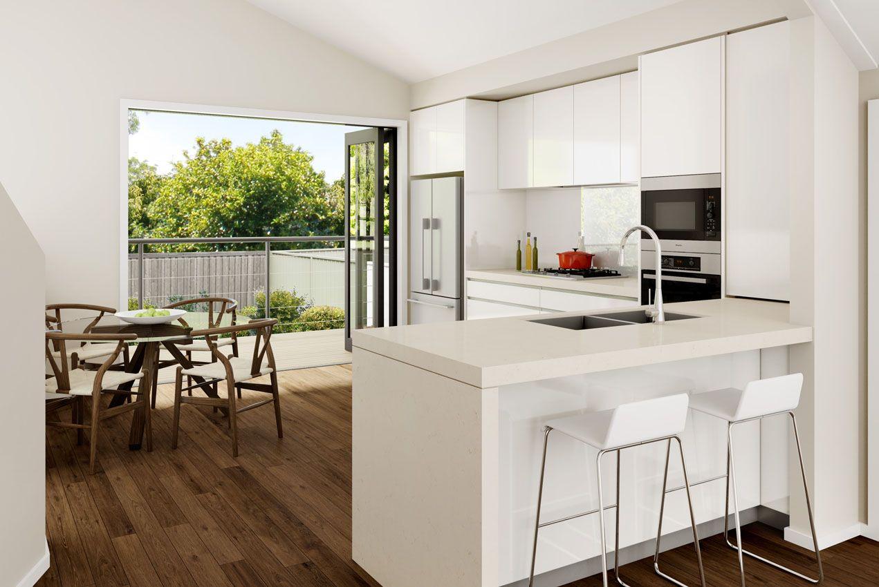 Contemporary Kitchen Designs From Sydney's Top Studio  Bi Fold Gorgeous Kitchen Design Concept Design Decoration