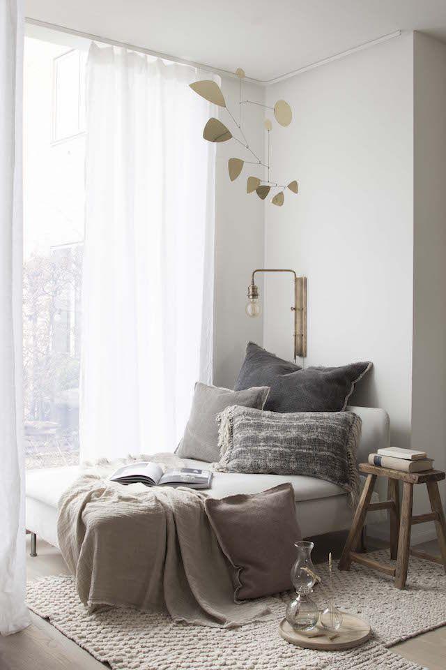 My New Window Nook Reading Corner Home Cozy Bedroom