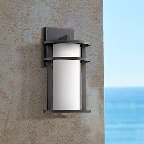Led Outdoor Lighting Exterior Led Light Fixtures Lamps Plus