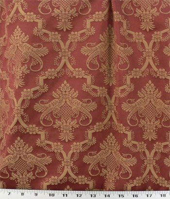 Napoli Red Online Discount Drapery Fabrics And Upholstery Fabric