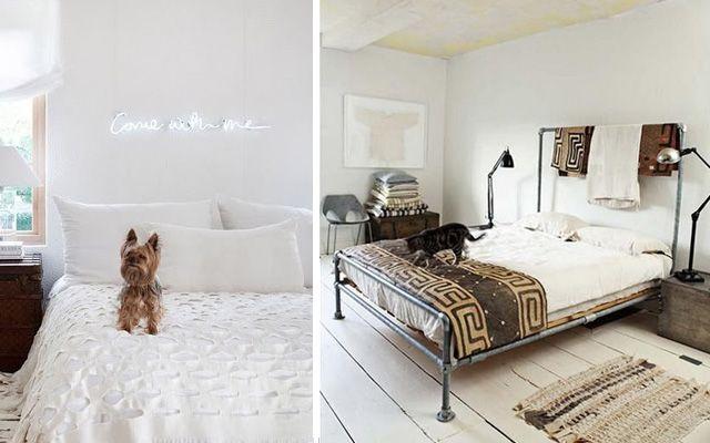 decoracin de dormitorios con cabeceros originales 30 ideas para decorar cabeceros de cama creativos - Ideas Para Cabeceros