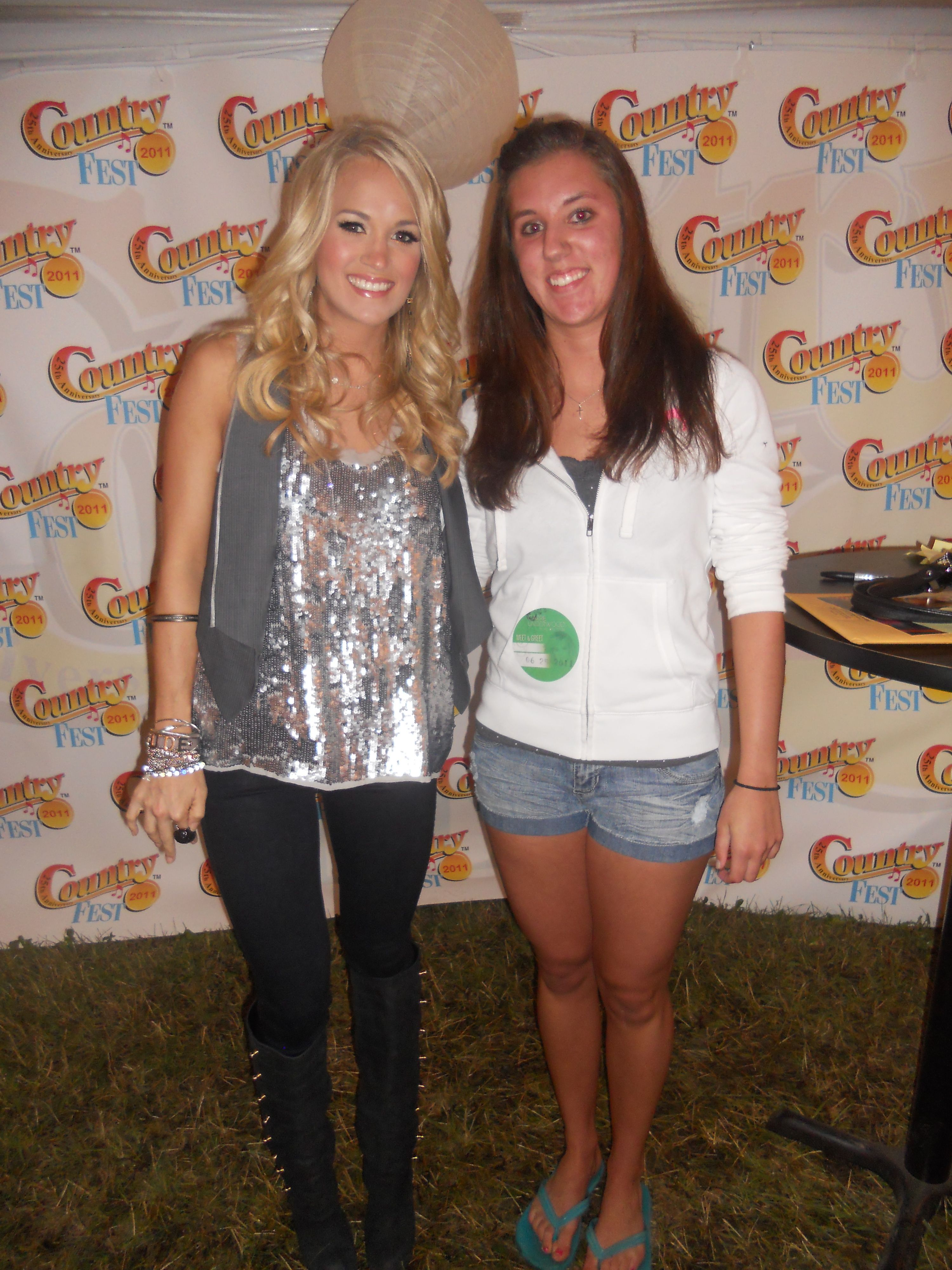 Carrie Underwood Meet N Greet From Country Fest 11 Countryfest