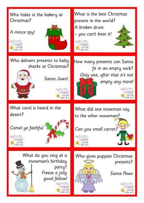 Marvelous Christmas Lunch Box Jokes