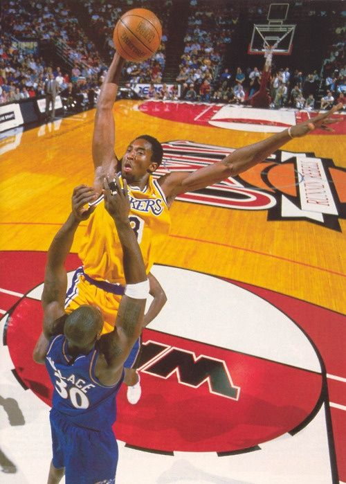 pretty nice 924f0 53e40 Kobe's Famous Dunk on Ben Wallace + The Same Game Dunk ...
