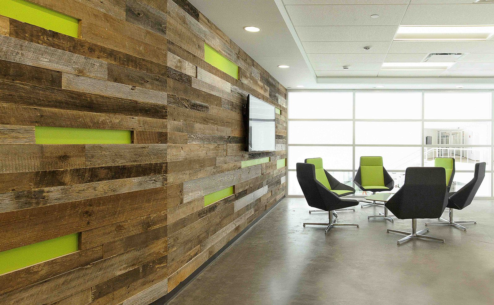 Modern Contract Furniture | Nios Lounge | Corporate Office Furniture  Installation | Design Firm: ID Unique Solutions, Inc. Photography: Front  Page ...