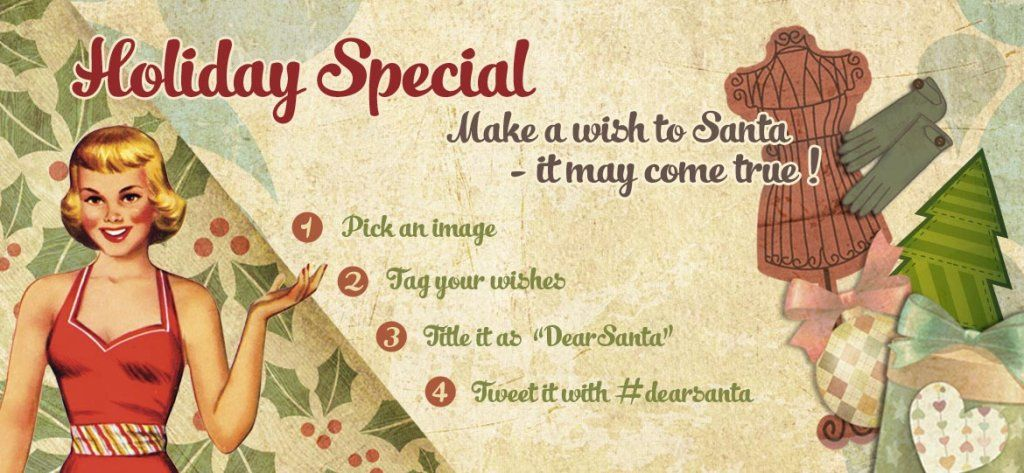 I want to participate! Holiday special: Make a wish to Santa! by ThingLink Front