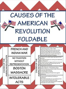 Free causes of the american revolution foldable interactive free causes of the american revolution foldable interactive notebook toneelgroepblik Image collections