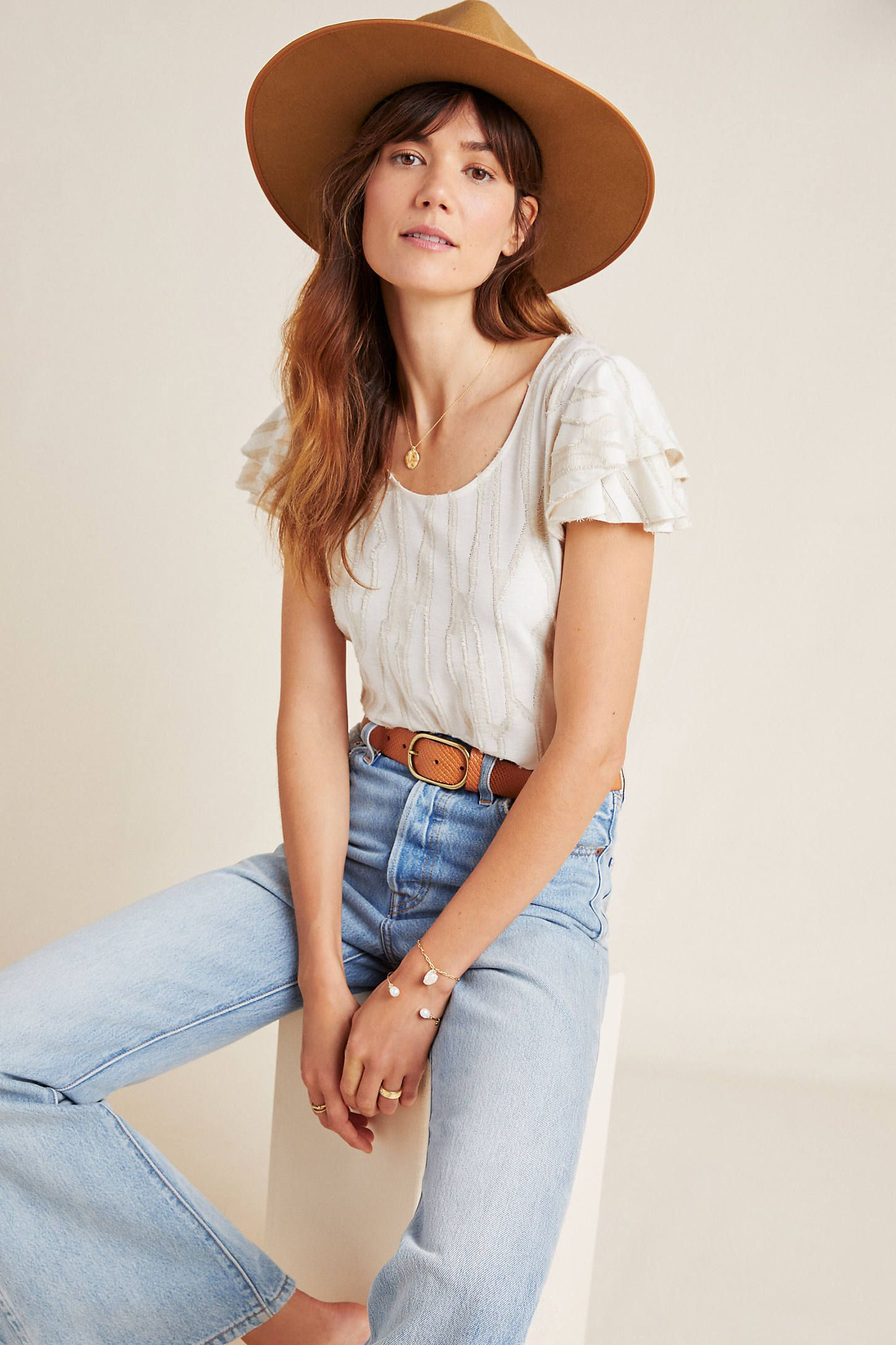 Charmante Textured Top