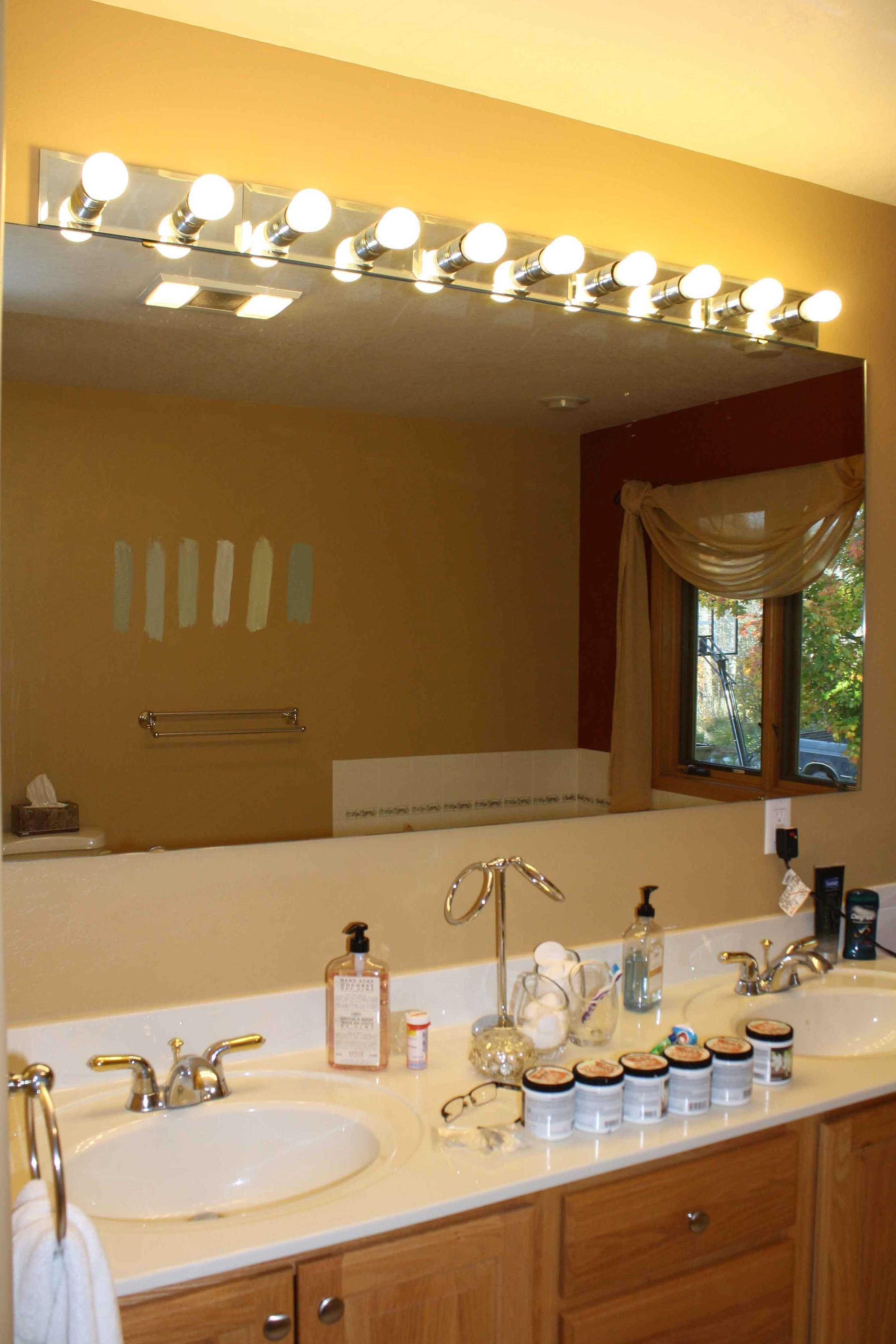 24 luxury vanity mirror with lights ideas  bathroom light