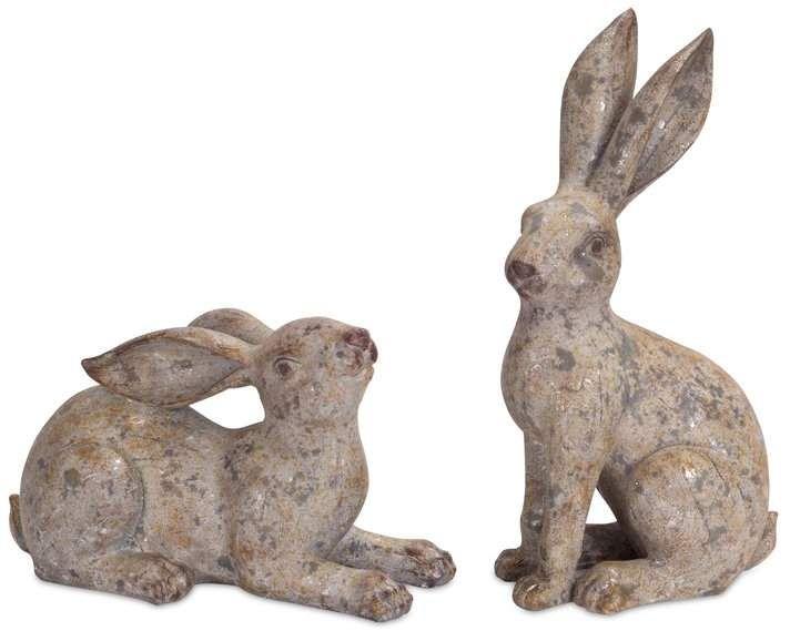 Alcott Hill Ceramic Rabbit Figurine