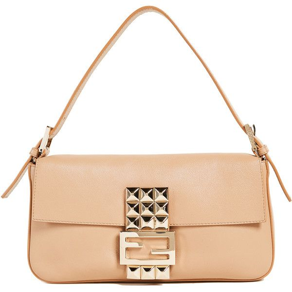 Pre-owned - Baguette leather bag Fendi Ap7Ef52g5p
