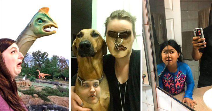 30 Personas que compartieron la foto más ridícula que tenían en su celular