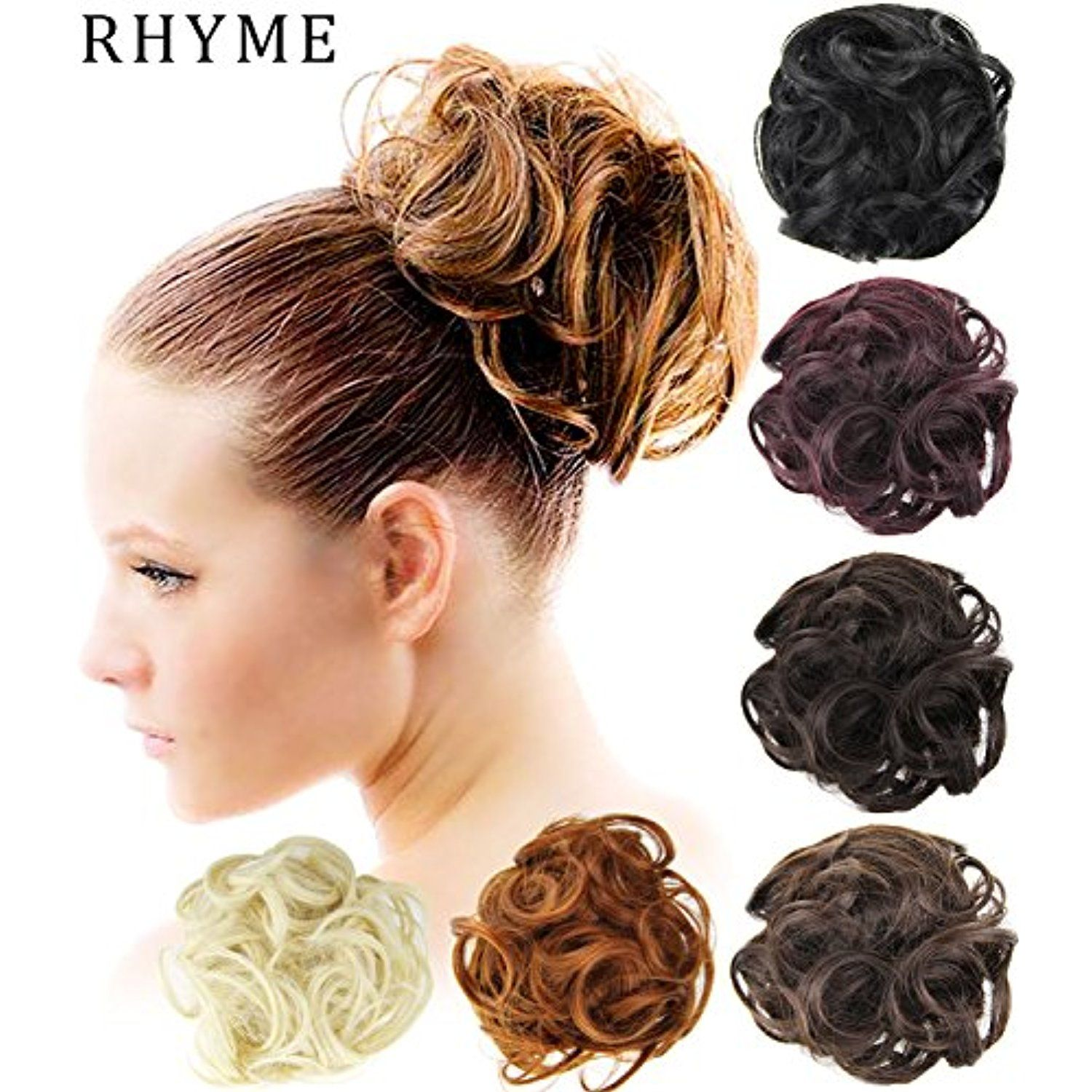 Rhyme Linen Scrunchie Bun Up Do