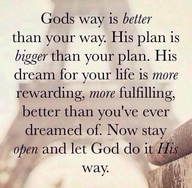Gods Plan In Our Lives Quotes Quotesgram By At Quotesgram Yes God
