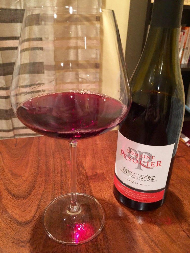 Domaine Du Pesquier Cotes Du Rhone 2012 Alcoholic Drinks Wine Red Wine