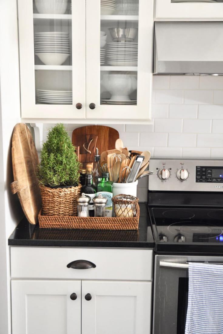 Best Kitchen Counter Top Organizing Ideas 2021 Kitchen