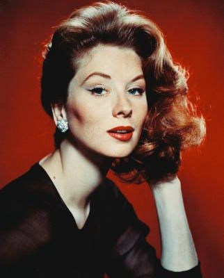 Suzy Parker was an American model and actress active from 1947 into the early 1960s. Her modeling career reached its zenith during the 1950s when she appeared on the cover of dozens of magazines, advertisements, and in movie and television roles.Married to Bradford  Dillman (Funny Face, 10 North Frederick, The Interns)) 1932-2003