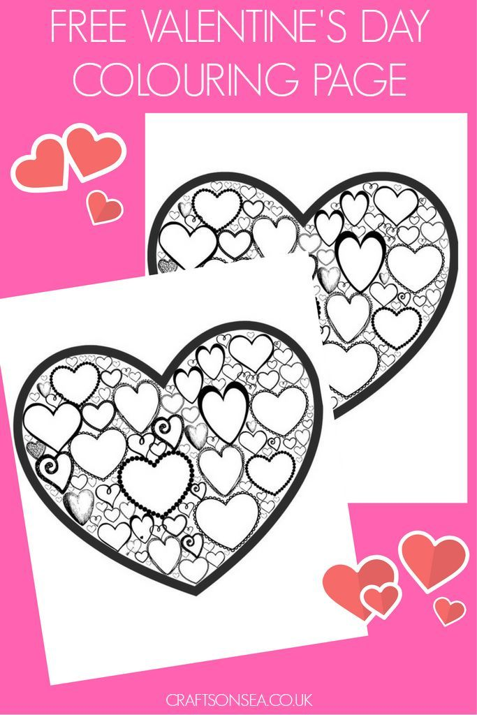 Heart Coloring Sheet Uk Design