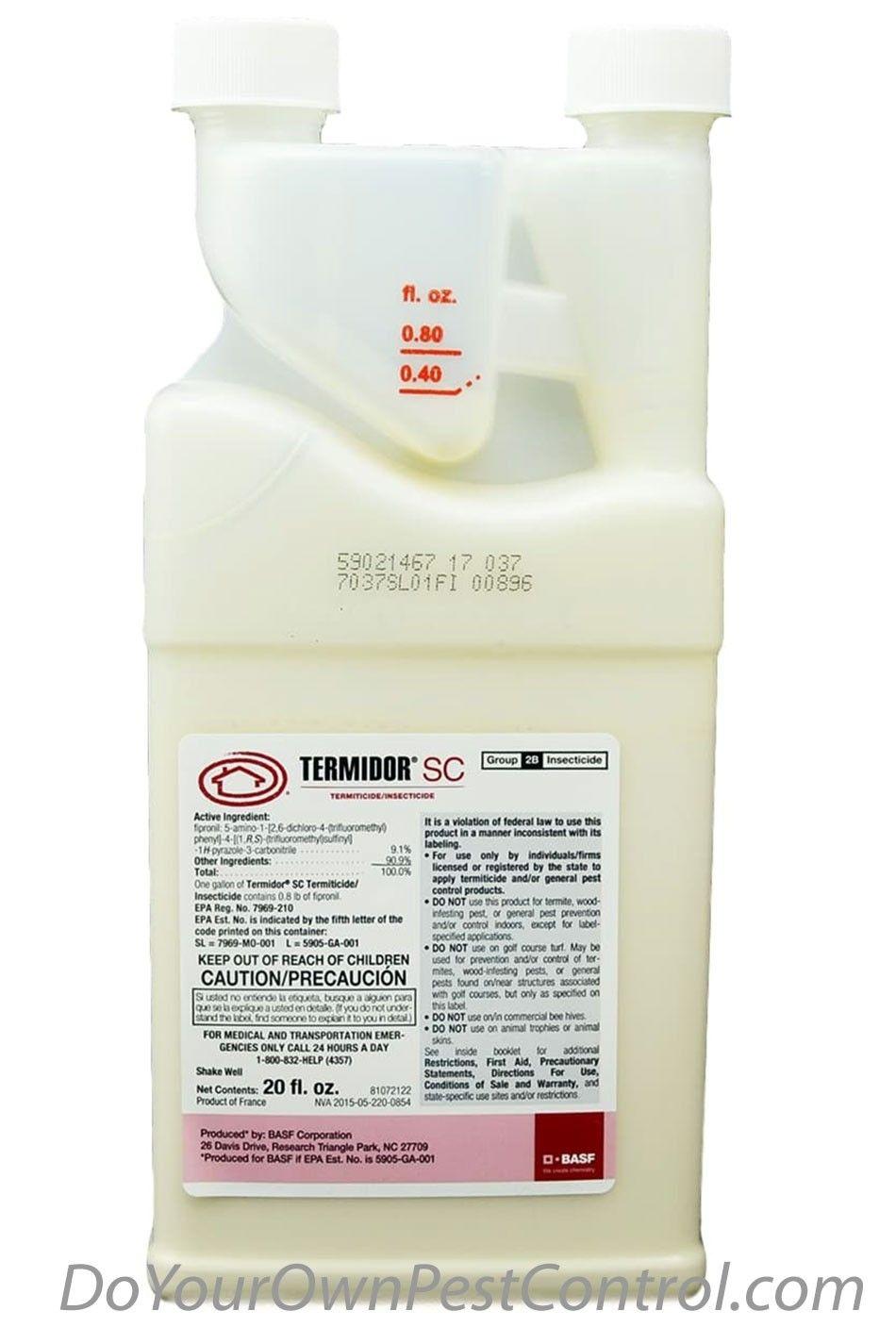 Termidor Sc In 2020 Termite Control Active Ingredient Insecticide