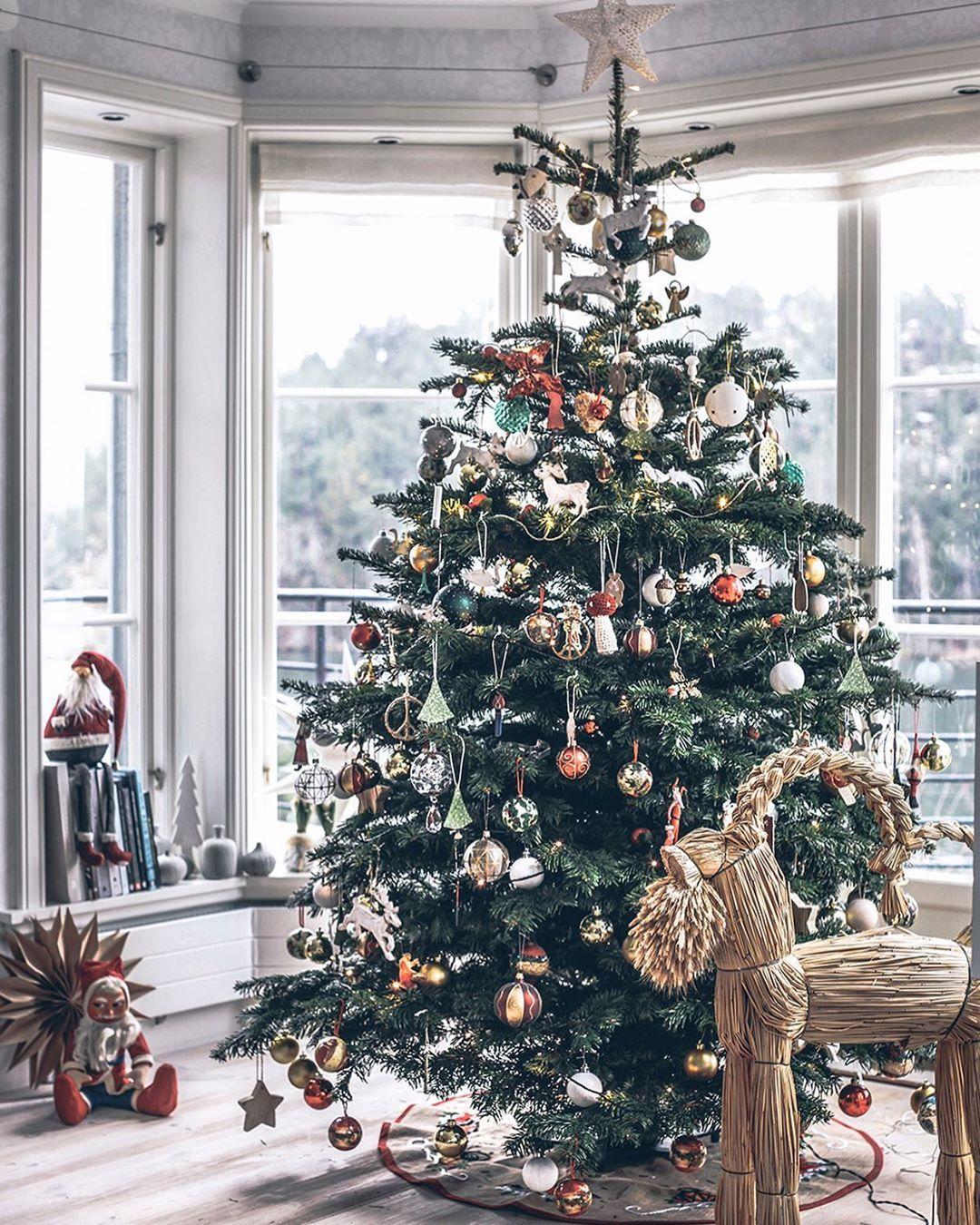 Asa Myrberg On Instagram Idag Ska Arets Gran Inhandlas Alskar Att Pynta Granen Vill Ha En Exakt L Magical Christmas Christmas Tree Images Christmas Deco