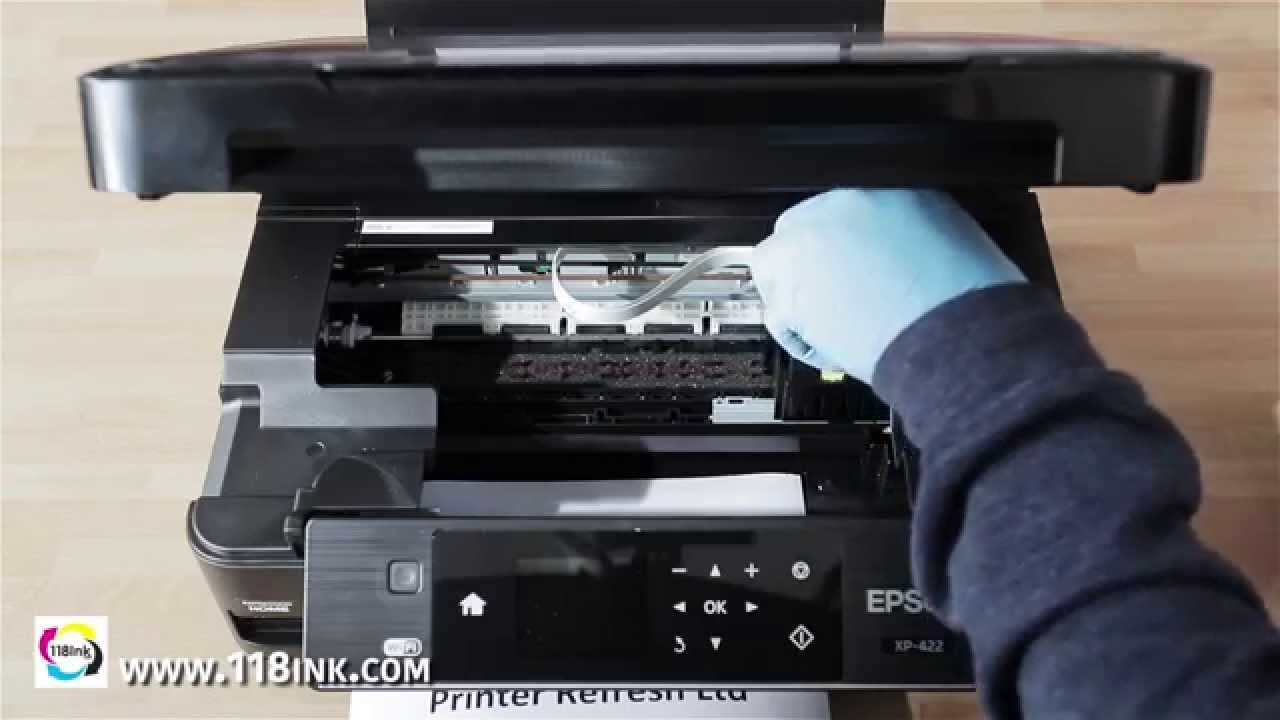 How to clean clogged or blocked Epson print head nozzles the easy