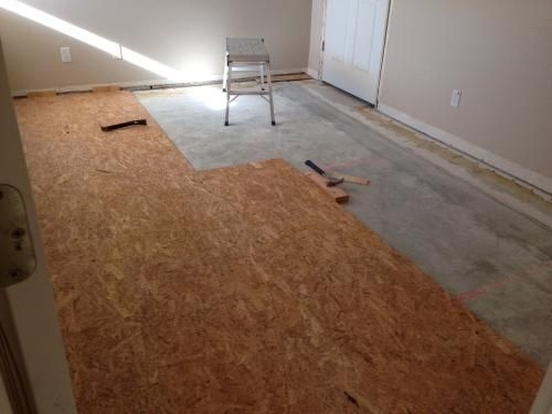 Dricore Subfloor Membrane Panel 3 4 In X 2 Ft X 2 Ft Oriented Strand Board Fg10006 The Home Depot Updating House Finishing Basement Basement Subfloor