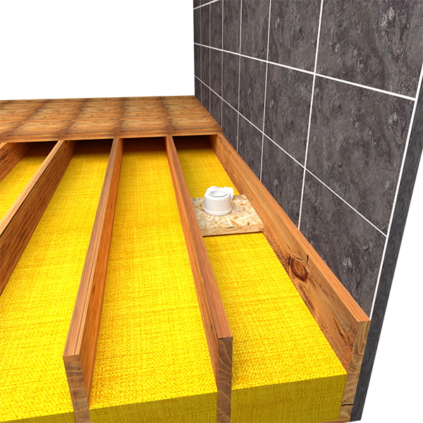 Wet Room Kit For Wooden Floor