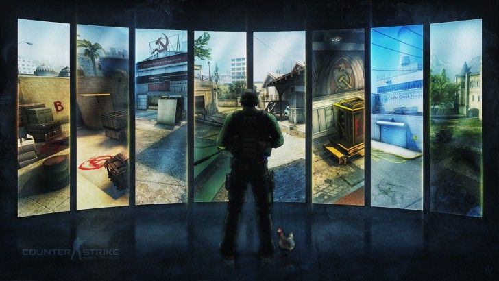 Counter Strike Global Offensive Game Maps Wallpaper Adsa Games