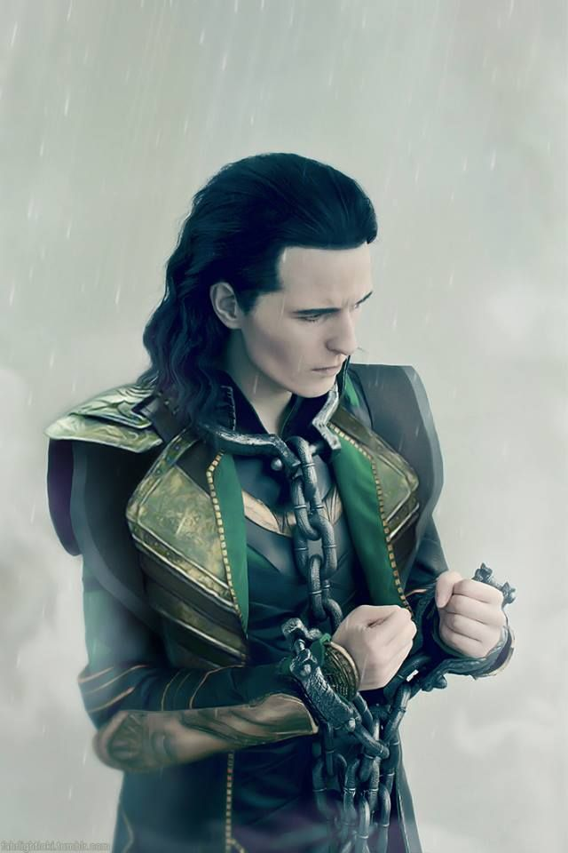 This cosplay is incredible. Loki in chains! - 11 Loki Cosplays