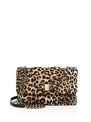 53a0e97ad2b3 Salvatore Ferragamo Vara Gelly Quilted Leopard-Print Calf Hair Crossbody Bag