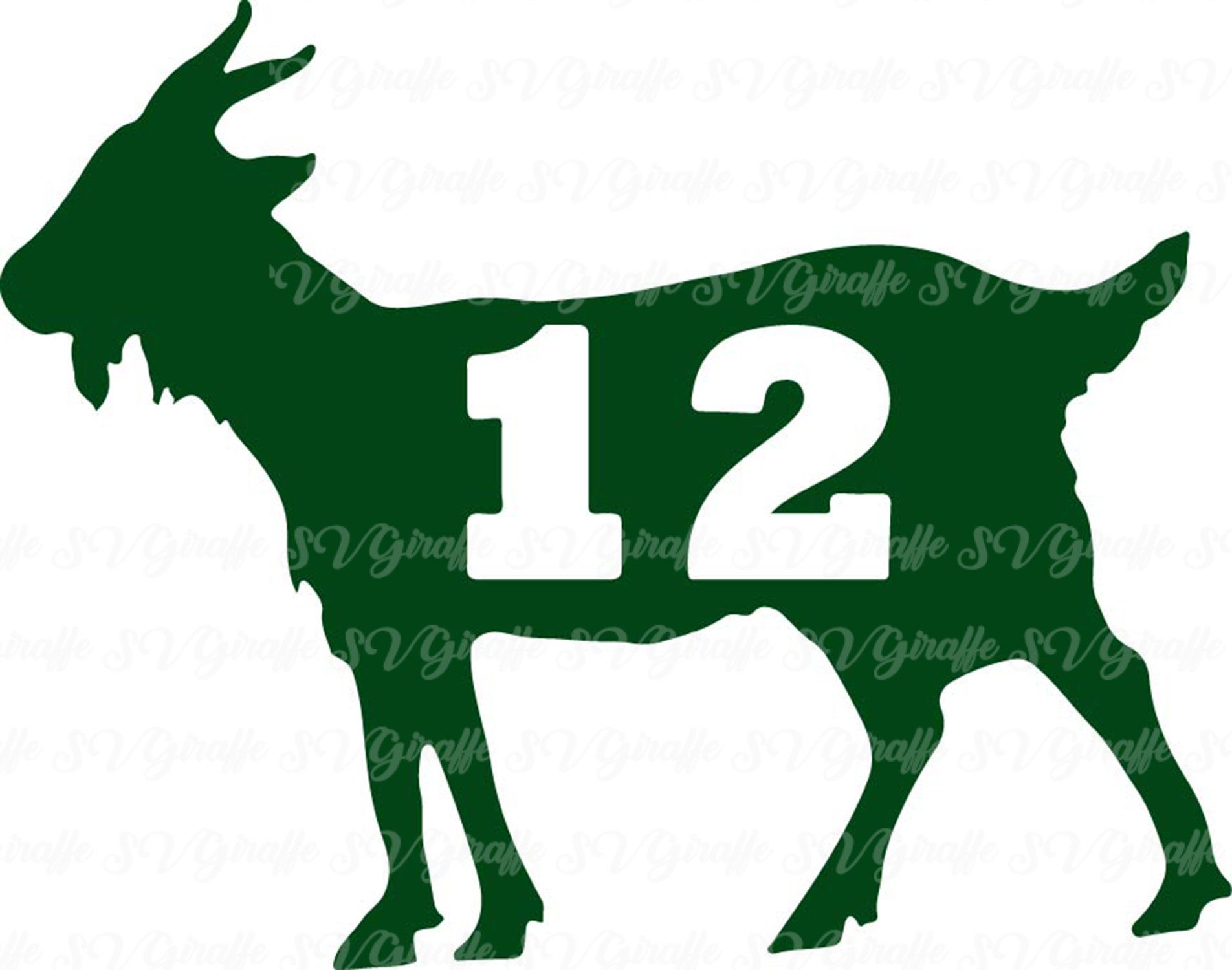 Aaron Rodgers Goat 12 Svg Dxf Png Pdf Jpg Files Aaron Etsy In 2020 Aaron Rodgers Svg Mug Art