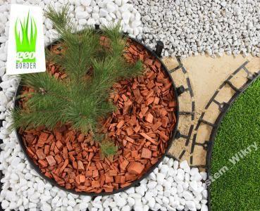 Geoborder 58 Eko Obrzeza Trawnikowe Bord Obrzeze Plastic Grass Garden Edging Grass Edging