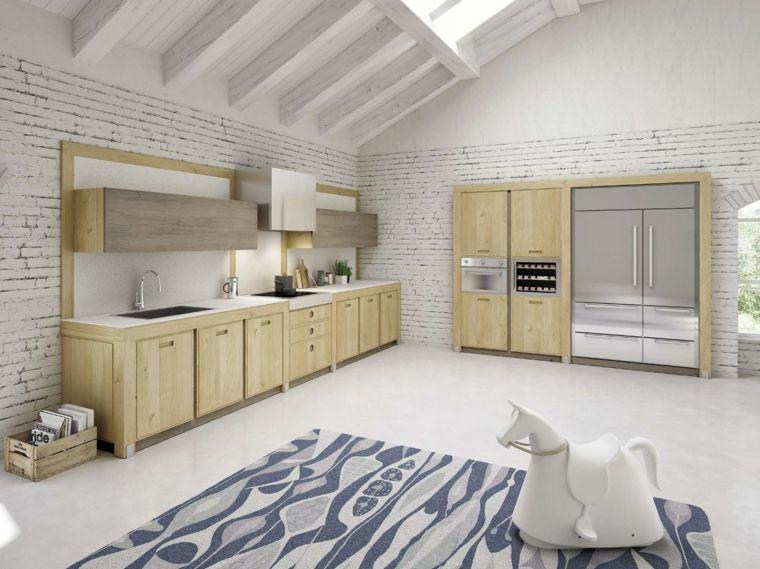 cocina-roble-diseno-Enrico-Bedin | Interiores | Pinterest | Cocina ...