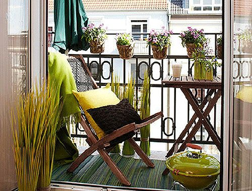 Outdoor Space Small Balcony Decor Apartment Balcony Decorating