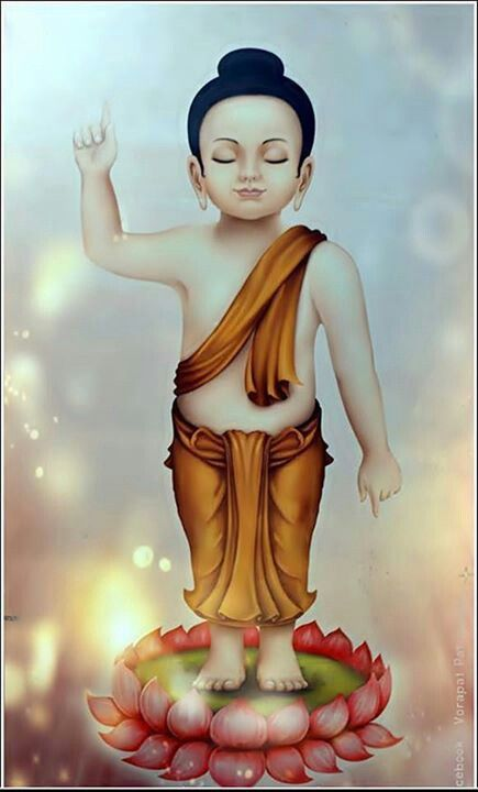 Little prince Siddhartha, later to be the Buddha | Buddhism ...