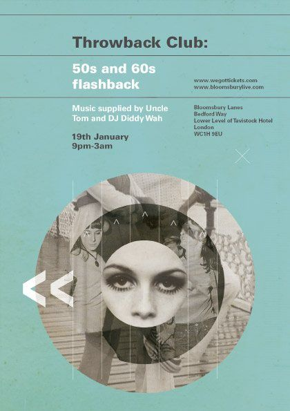 60s clubs flyers - Google Search