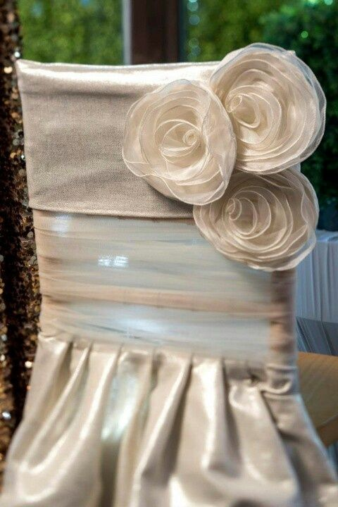 paper chair covers for weddings hourglass time out i can do 3 big flowers instead cover party