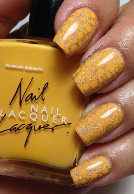 American Apparel Manila Nails Beautiful Nail Polish Elegant Nails